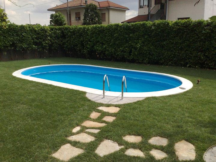 Piscina interrata vetroresina costruire una piscina - Quanto costa una piscina ...